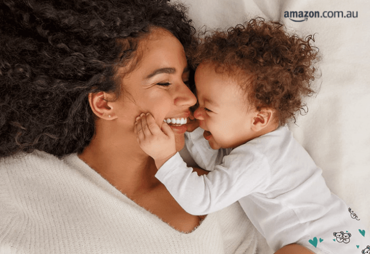 Mum and Baby Cuddling - Hugs & Bubs Review