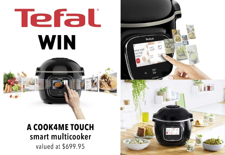 WIN A Cook4me touch From Tefal