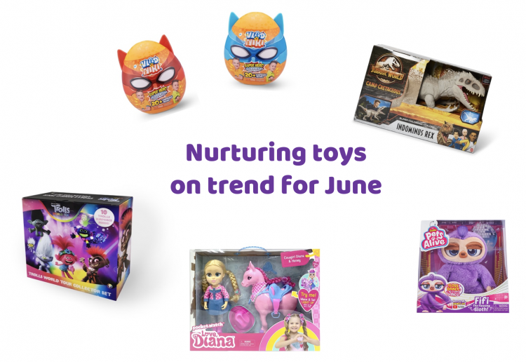 """Our Favourite """"Nurture Toys"""" On Trend For June"""