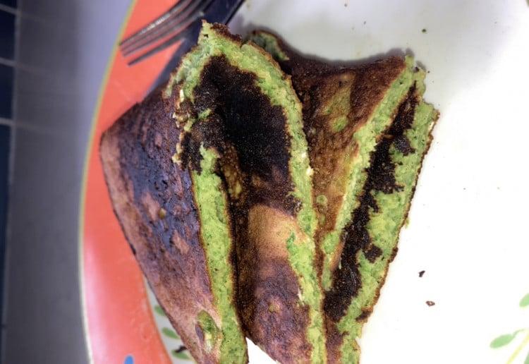 Hulk Green Pancakes Recipe