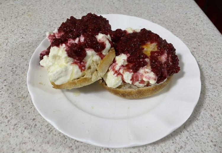 Ricotta and Berry English Muffins Recipe