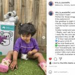 Hugs & Bubs Nappies Review - Social sharing toddler wearing hugs & bubs nappy