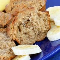 Three Ingredient Banana Lemonade Muffins Recipe