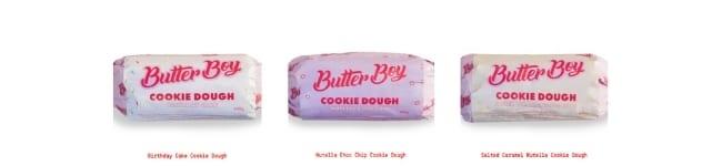 Butter Boy Cookie Dough_various flavours