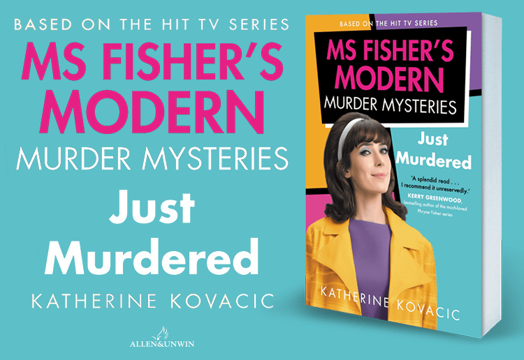 WIN 1 of 17 Copies of Just Murdered: Ms Fisher's Modern Murder Mysteries
