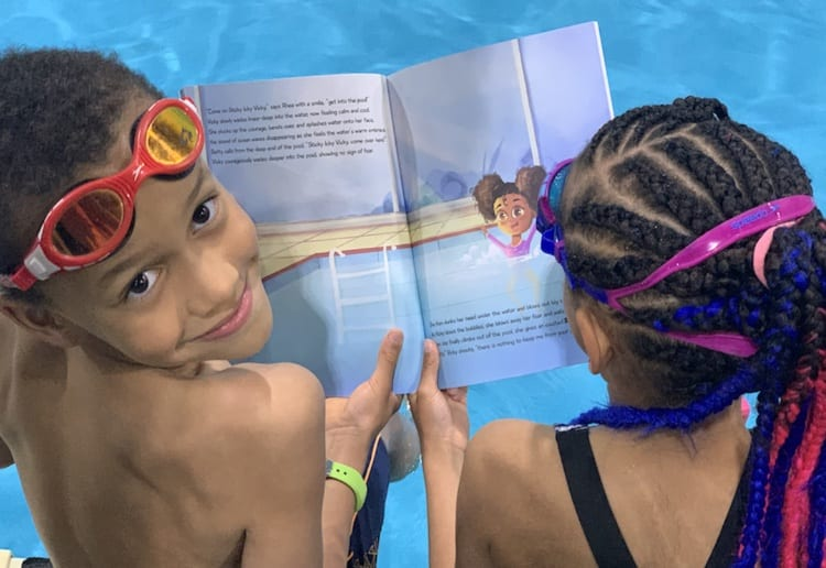 WIN 1 of 4 Book Hampers About Swimming For Your Bookshelf (During Winter & Lockdown!)