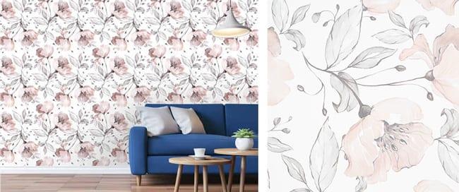 Kmart-Floral-Wallpaper