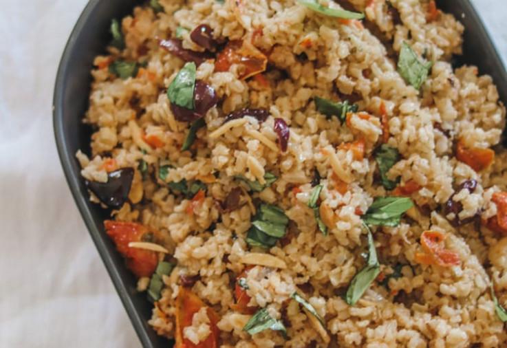 Italian Brown Rice Salad Recipe