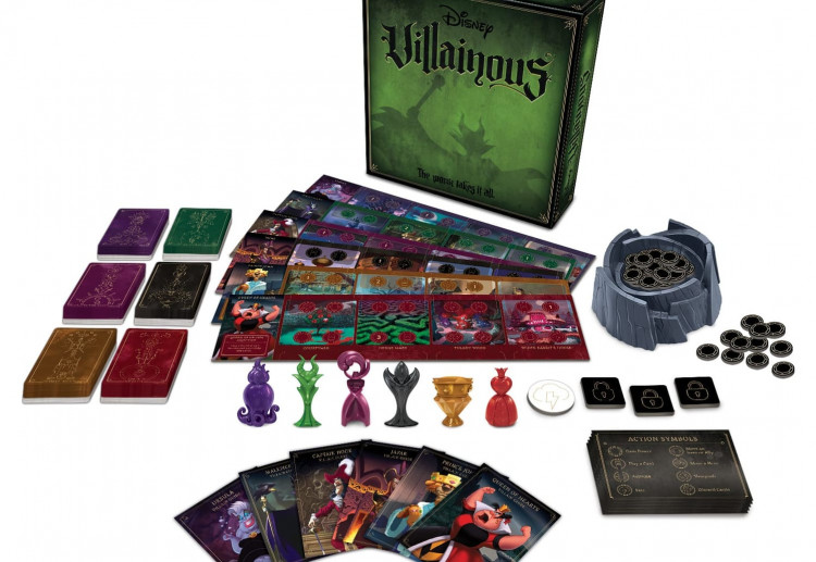 Win 1 of 5 Disney Villainous – The Worst Takes It All, An Exciting New Strategy Board Game