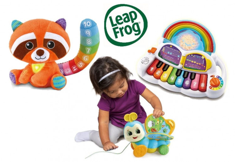 Win 1 of 6 LeapFrog Prizes Perfect For Babies