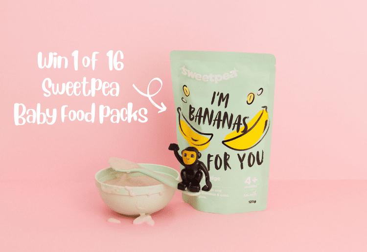 Win 1 of 16 Sweetpea Baby Food Packs!