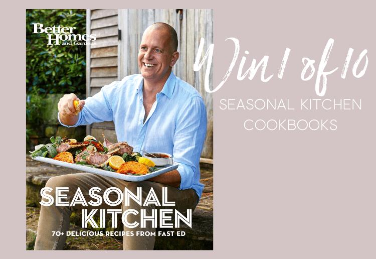 Win 1 of 10 Fast Ed's Seasonal Kitchen cookbooks