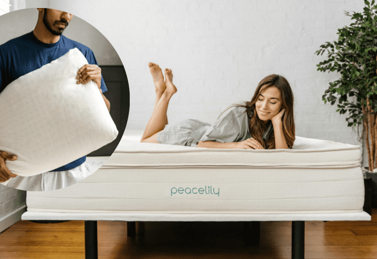Win a Peacelily Latex Mattress Topper and Latex Pillow Pack valued at $588!
