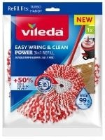 Vileda Easy Wring & Clean Power 3in1 Microfibre Refill Review Image of Product in Packaging