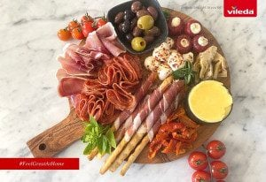 Antipasto Platter brought to you by Vileda