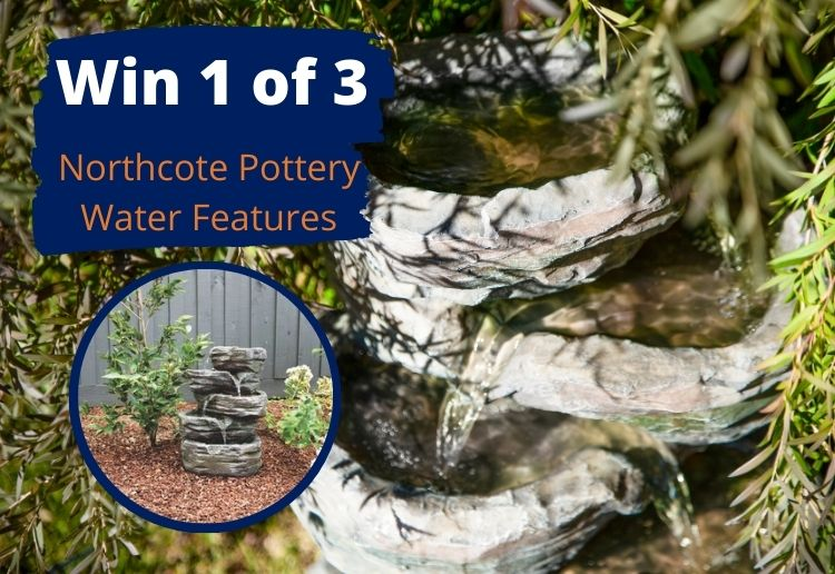 Win 1 of 3 Northcote Pottery Water Fountains