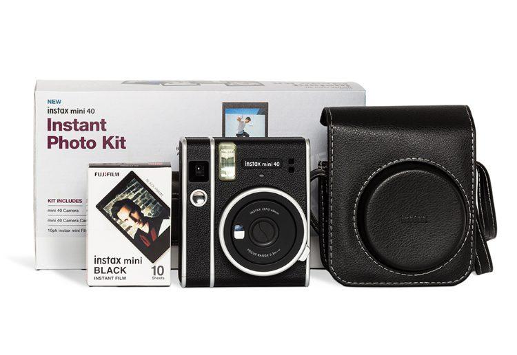 Win 1 of 3 Fujifilm instax mini 40 – Instant Photo Kits for Dad!