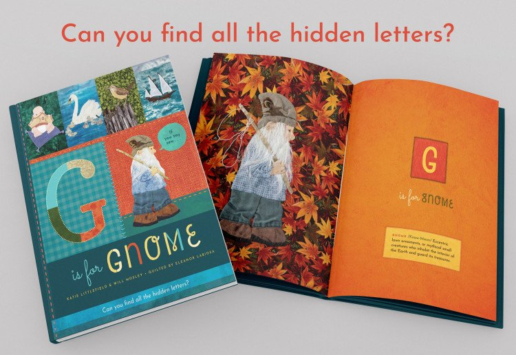 WIN 1 OF 10 Copies of G is for Gnome