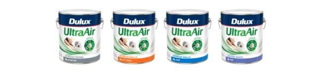 NEW Dulux UltraAir Range 650x150