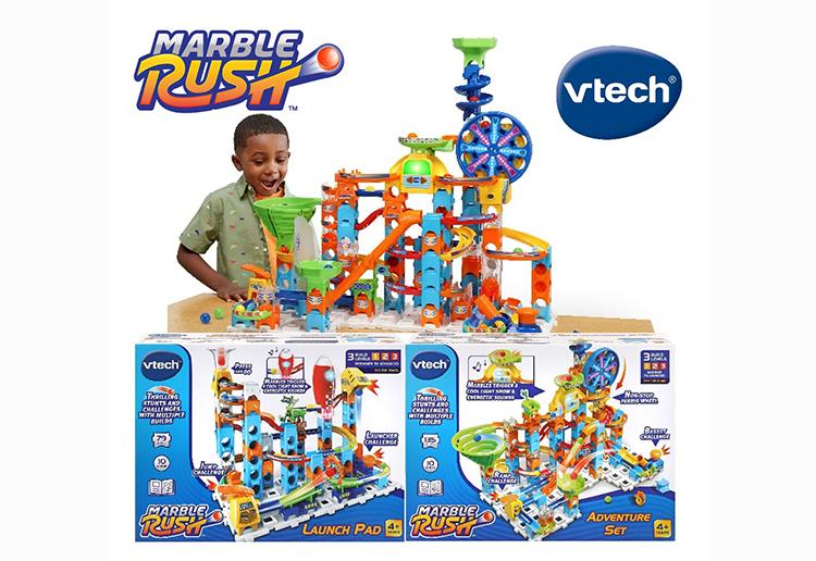 Win 1 of 4 VTech Marble Rush Prize Packs!