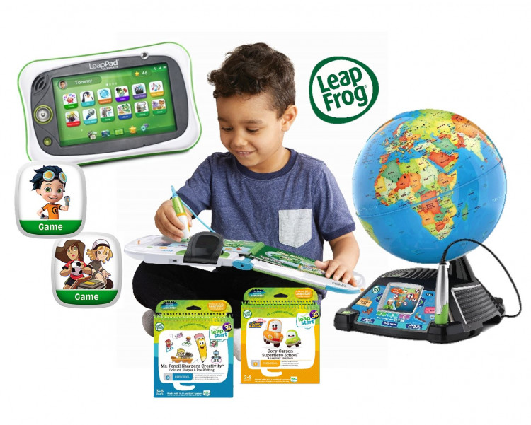 Win an absolutely fantastic Leapfrog Learning prize pack for the whole family valued at over $500