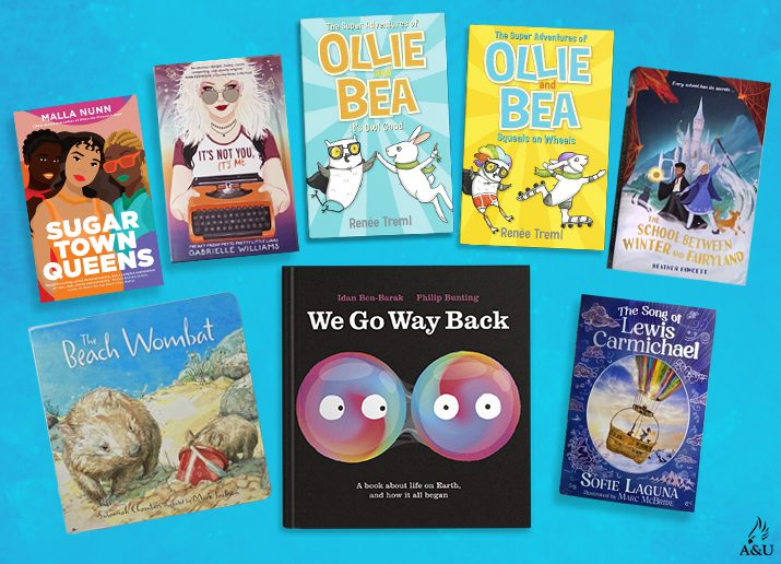 8 jam-packed kids book prize packs filled with loads of fun books