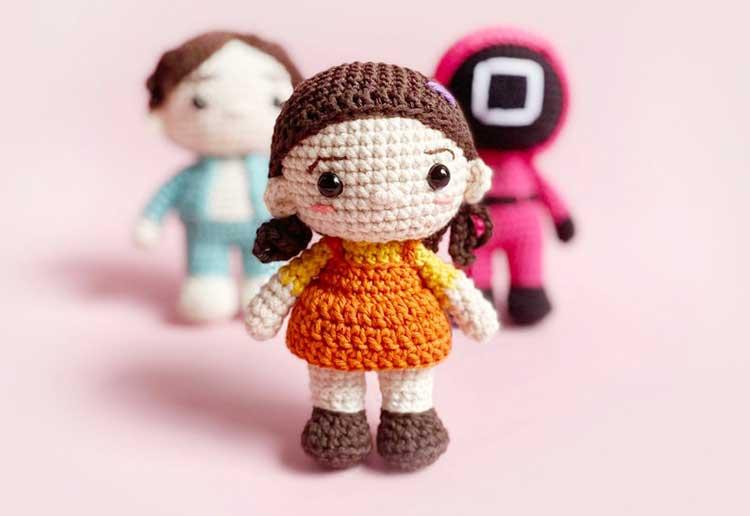 Squid Game dolls DIY