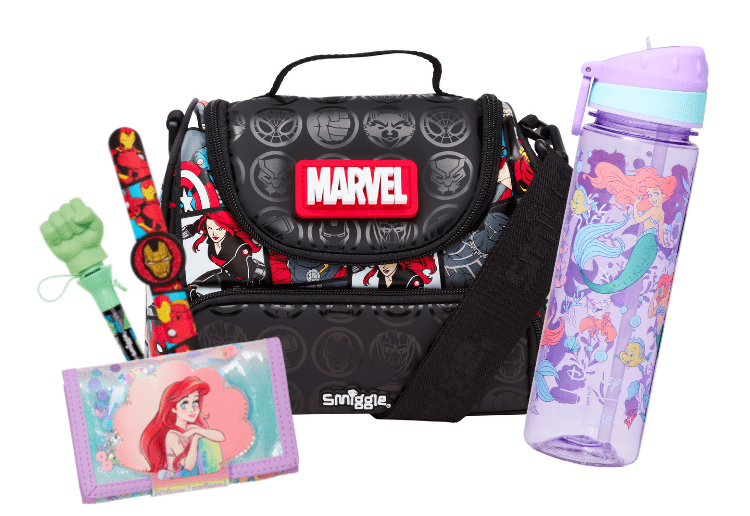 Smiggle's new Marvel and Disney Princess capsule collection: 5 x $100 Smiggle Gift Cards up for grabs