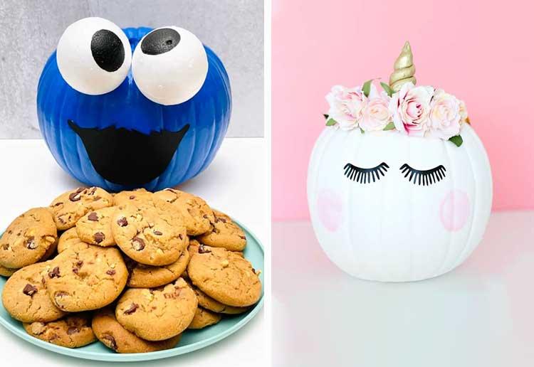 9 Halloween Painted Pumpkin Ideas For Kids