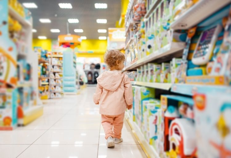 Calls For Australian Toy Stores To Ditch Blue And Pink
