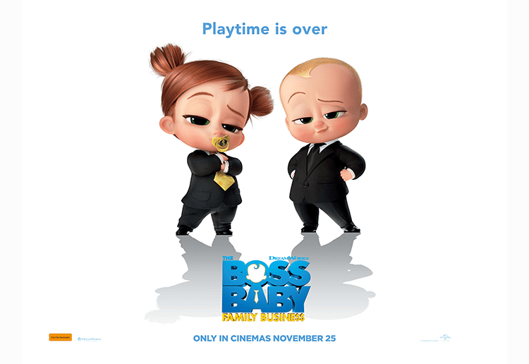 Win 1 of 10 Boss Baby Family Prize Packs!