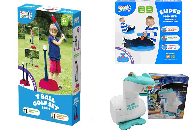 Win 1 of 4 Toy Monster prize packs for the kids!