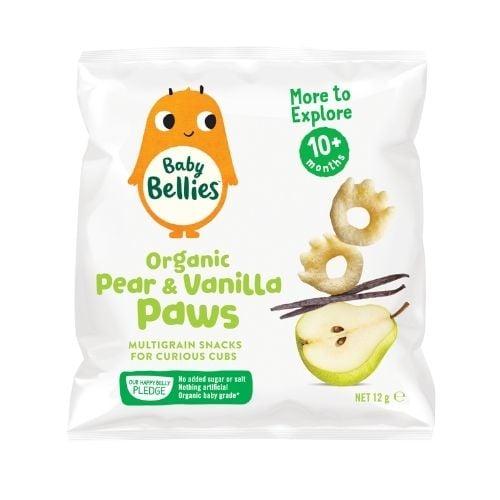 Baby Bellies Organic Pear & Vanilla Paws