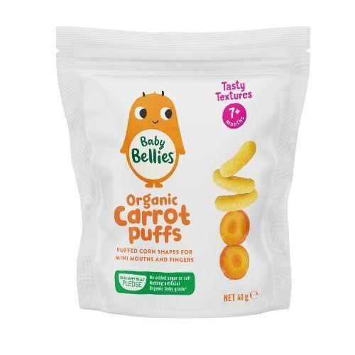 Baby Bellies Carrot Puffs Sharepack