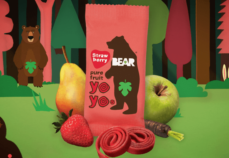 The REAL Fruit Roll-Ups For Hungry Little Bears